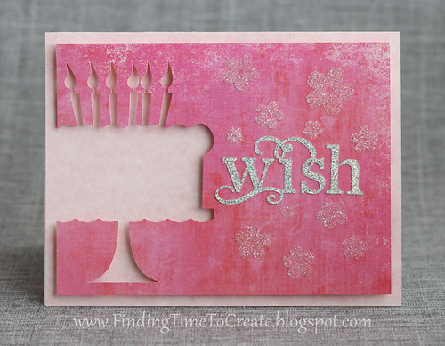 Feminine Birthday Card by Kelly Wayment