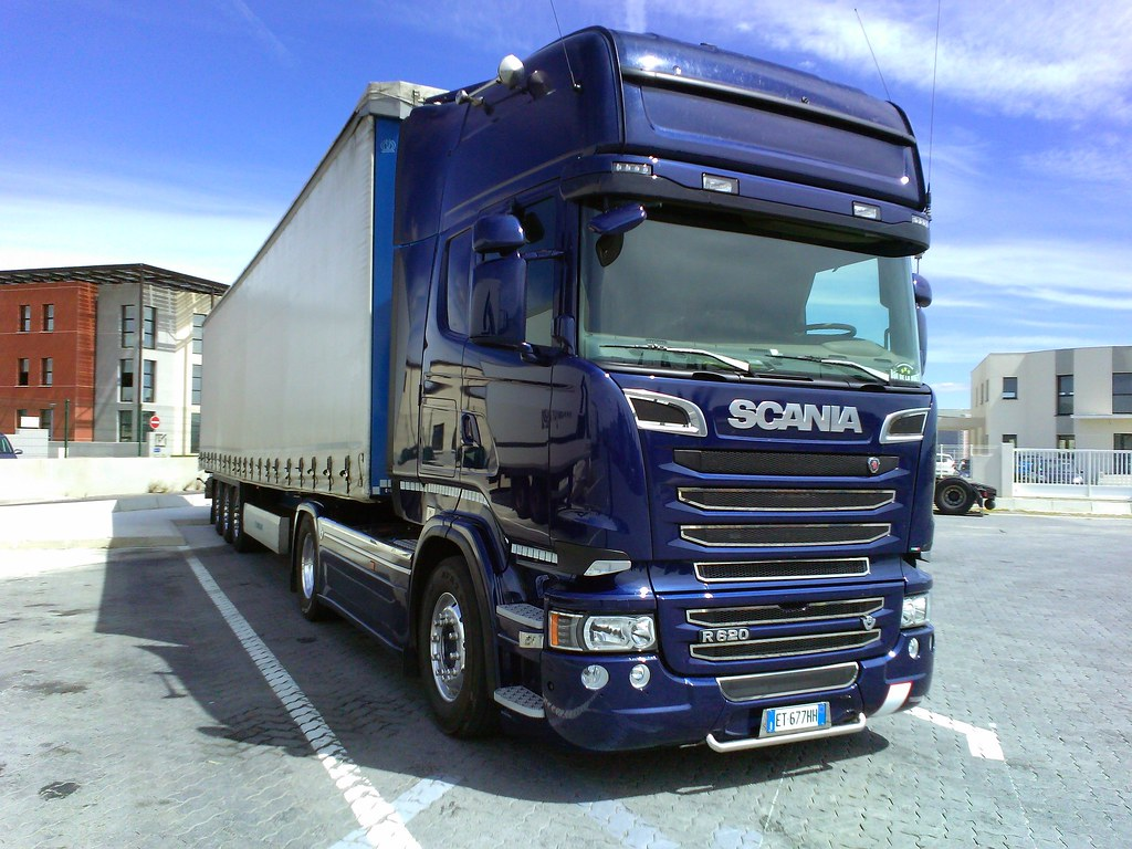 Extrêmement Scania R620 v8 streamline Italia - a photo on Flickriver PR19