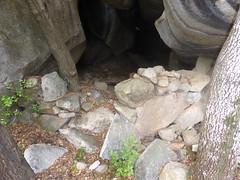 Autres orii et abris sous roches dans la montée au castellu