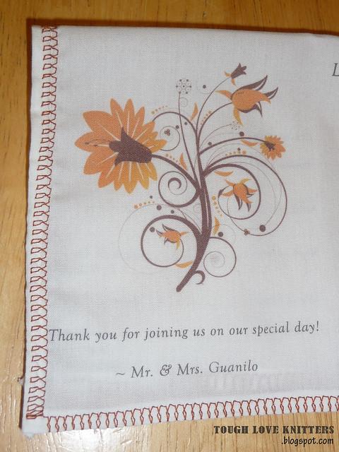 Wedding Handkerchief - Embroidery (3)