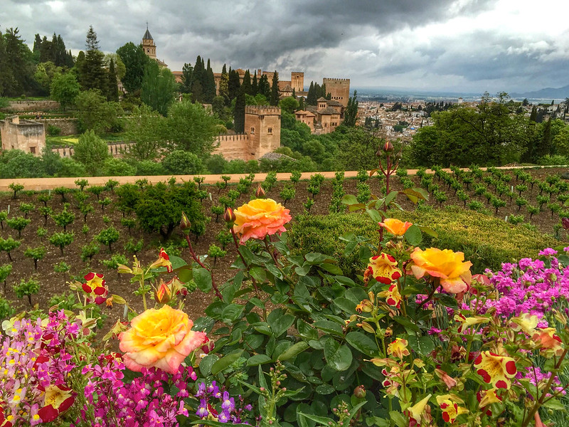 The Alhambra and Generalife Gardens