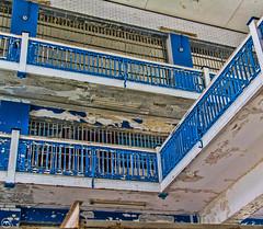 Prison rails