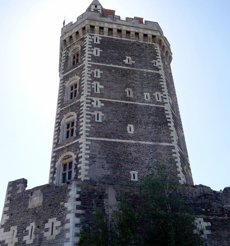 Rigny-Ussé, Candes-St-Martin, Ancenis, Le Cellier (L. de Funes)