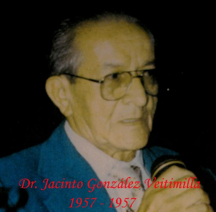 Dr. Jacinto González Veitimilla