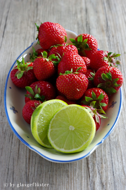 Erdbeer Limetten Kompott by Glasgeflüster 1 klein