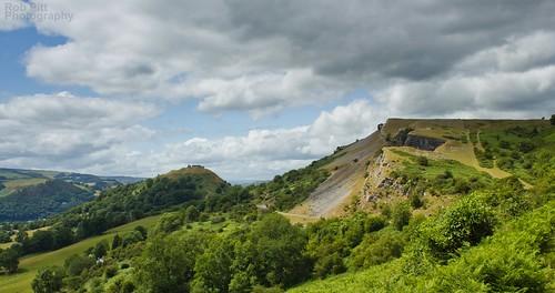 summer wales landscape view north cymru denbighshire cyrmru