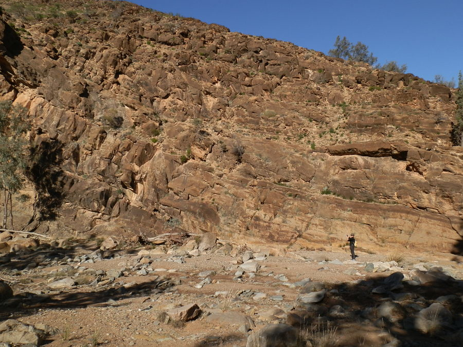 Rocky Cliffs on Blinman Pools Hike, Angorichina, Northern Flinders Ranges