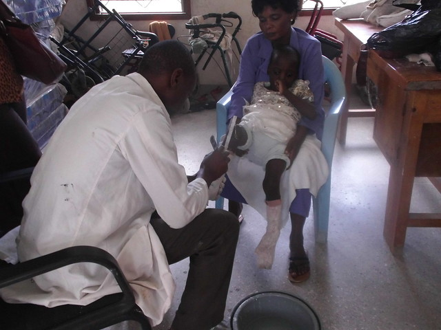 Mama Domi & Michelle at Portreiz Hospital