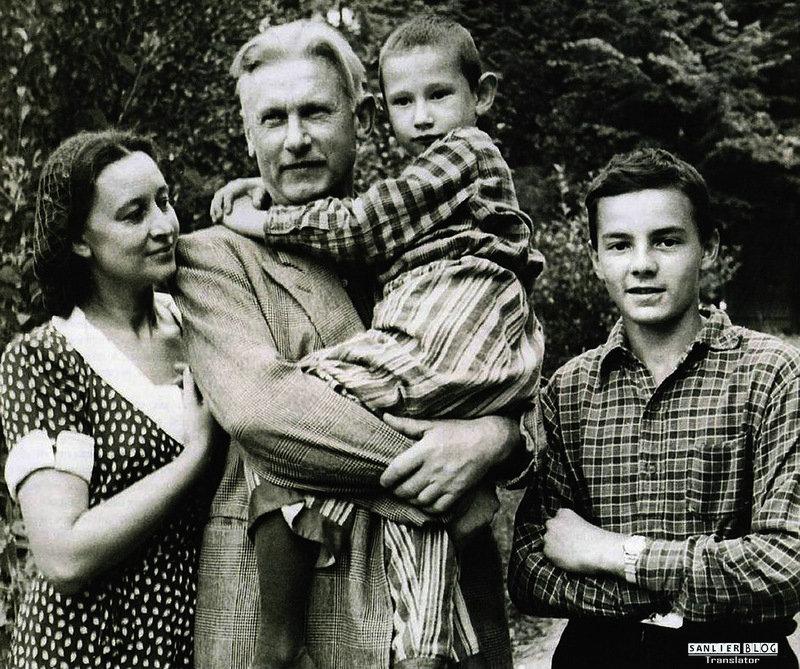 苏联名人家庭照片02