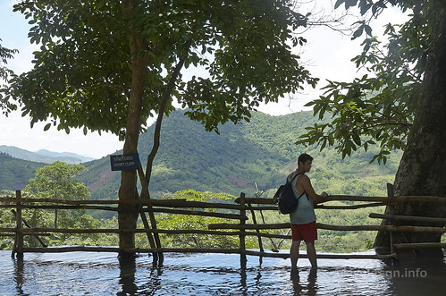 【写真】世界一周 : クアンシーの滝・滝口