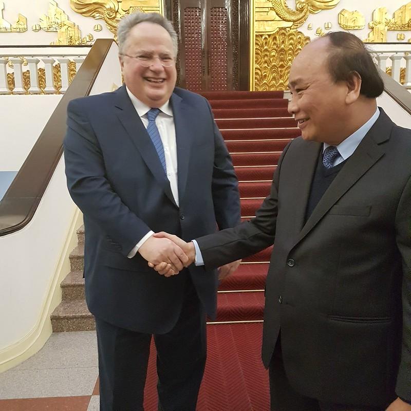 Επίσκεψη Υπουργού Εξωτερικών, Ν. Κοτζιά, στο Βιετνάμ (13-15/2/2017)