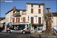 Dietrich Véhicules City 21 (Fiat Ducato) - TUB (Transports Urbains Bergeracois)