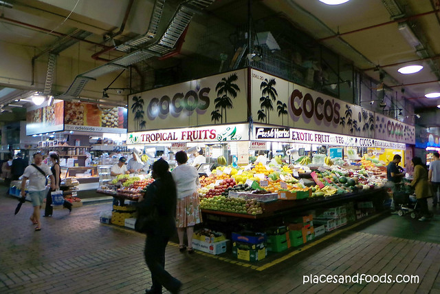adelaide central market fruits stall
