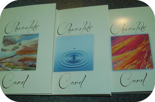 Chocmotif Chocolate Cards