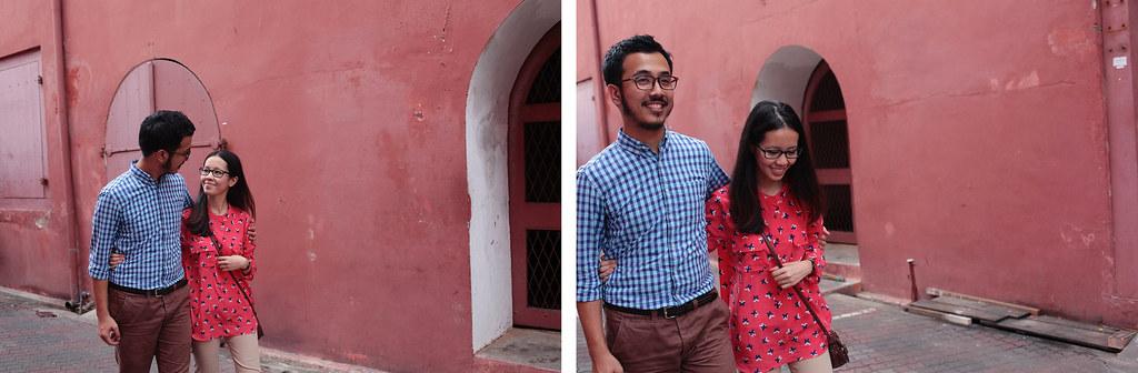 Zahirah + irman-030