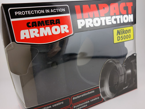 CAMERA ARMOR IMPACT PROTECTION Nikon D5000