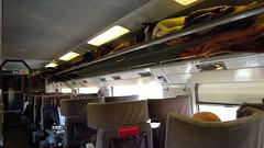 Eurostar 9022 to Paris Nord, Standard Premier Class carriage - Photo of Saint-Désiré