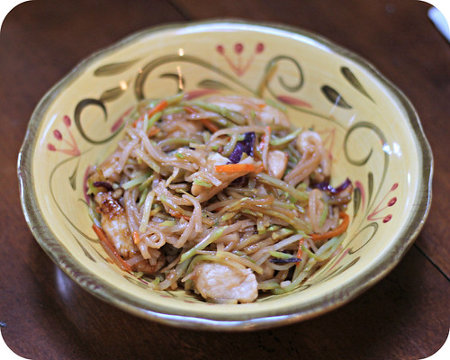 Szechaun Chicken with Noodles