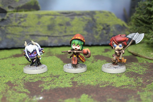 Super Dungeon Explorer Miniatures from Soda Pop Miniatures War Game