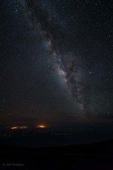 Milky Way over 'House of the Sun'