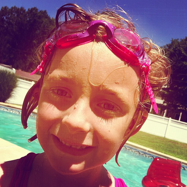 #photoadayalbsummer : goggle girl
