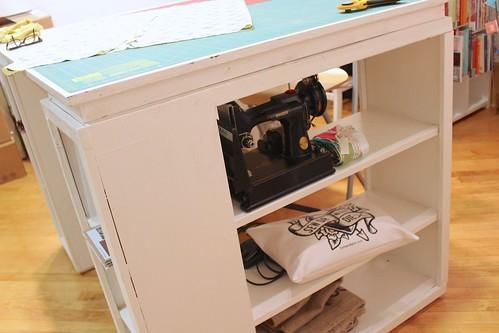 cutting desk w/FW