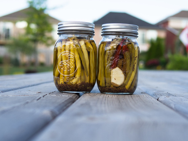 canning beans, dilly bean recipe, how to make dilly beans, preserve dilly beans