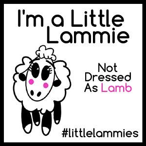 I'm a Little Lammie Button