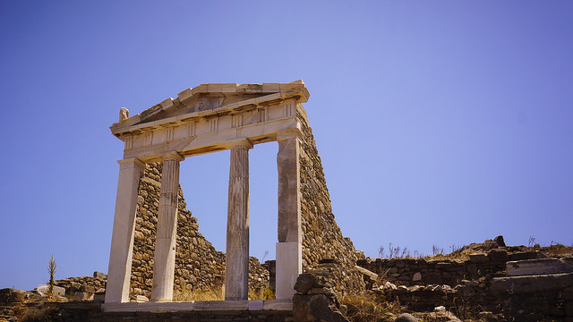 Temple of Isis on Delos