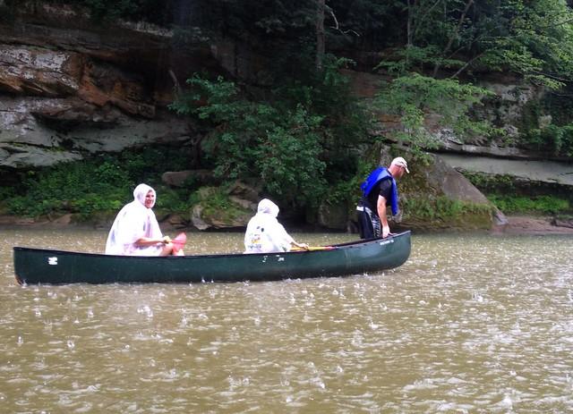 Rainy Canoe Trip