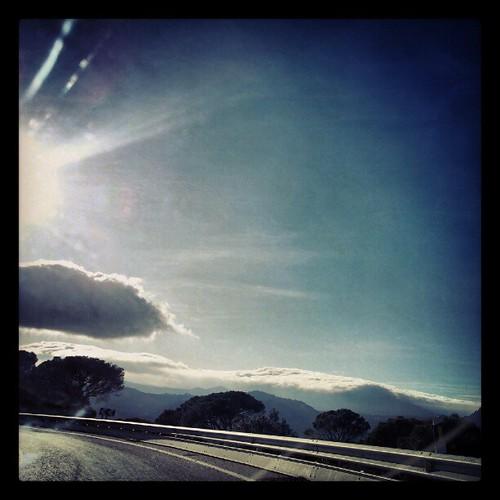 Montañas que son nubes, nubes que...
