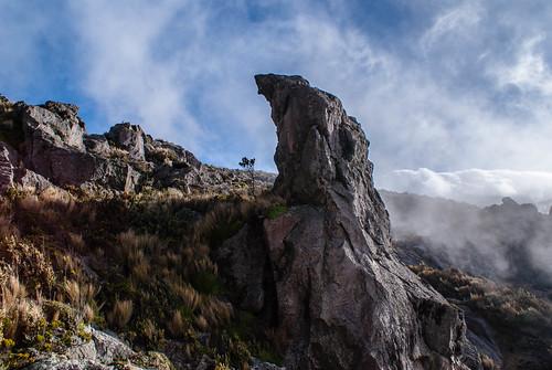 ecuador paisaje bolívar chimborazo chimboraz