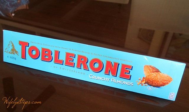 Toblerone Crunchy Almonds Bar