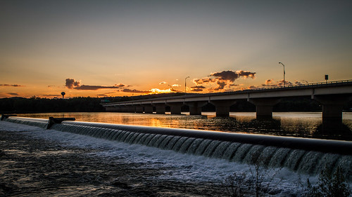 sunset river pennsylvania dam shamokin susquehanna shamokindam