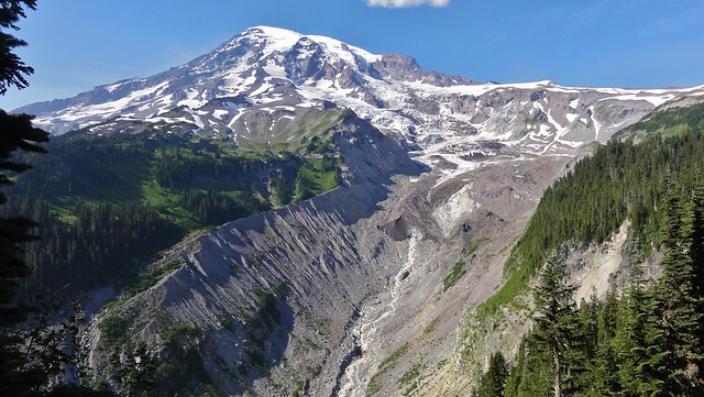 Mount Rainier and Nisqually Glacier