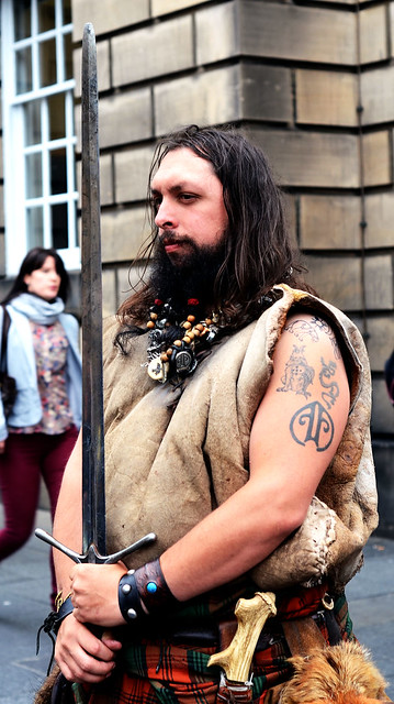 Stationary Scotsman