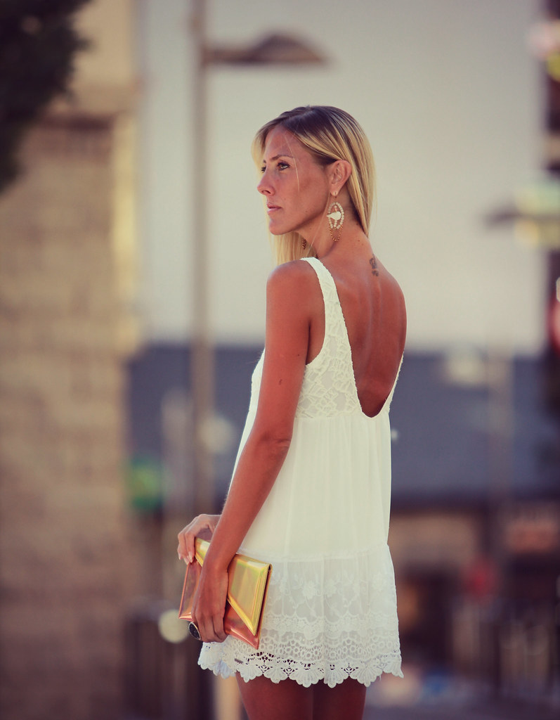 style lover abercrombie white dress