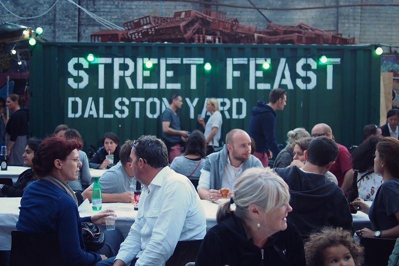Street Feast, Dalston Yard