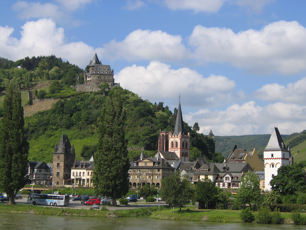 7. Castillo de Stahleck. Autor, Dfb