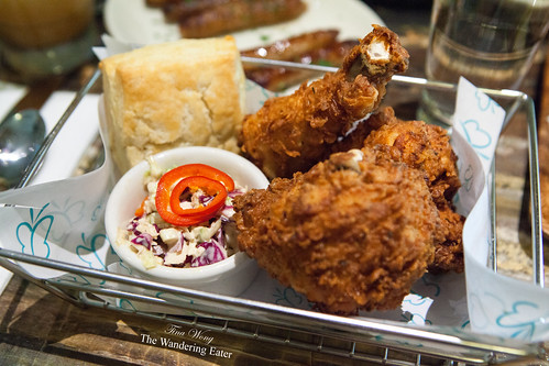 Fried Chicken Brunch Basket