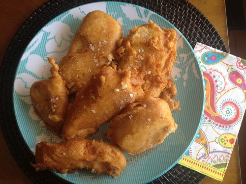 Get the Fish and Chips with Malt Vinegar Mayonnaise recipe at Bon ...
