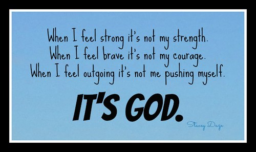 it's God