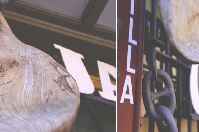 jamon castilla ciudad rodrigo wood detail