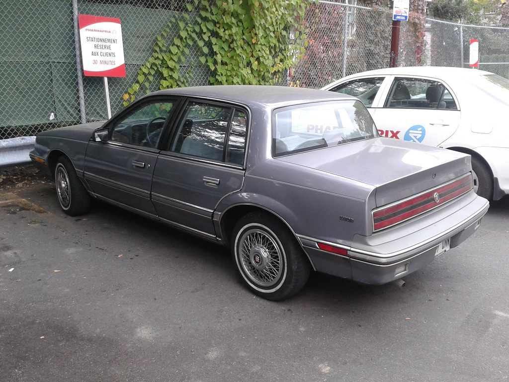 1986 1991 Buick Skylark Custom