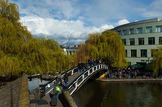 Passerelle sur le Regent's Canal