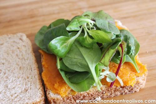 Sandwiches de pavo y calabaza www.cocinandoentreolivos (8)