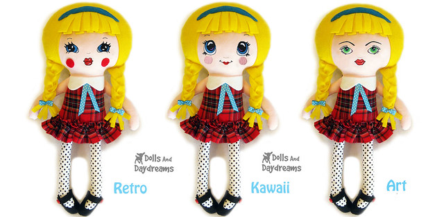 Dolls And Daydreams Doll And Softie Pdf Sewing Patterns
