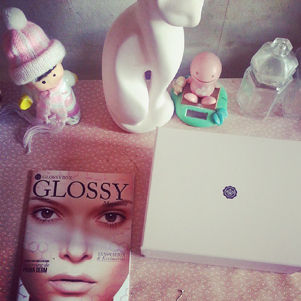 J'ai eu ma #Glossybox  ♥♡♥ #blog #blogueuse #ourlittlefamily #france