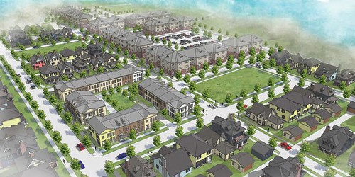 re-envisioned Dogwood Terrace neighborhood (courtesy of Augusta Sustainable Development Implementation Program)