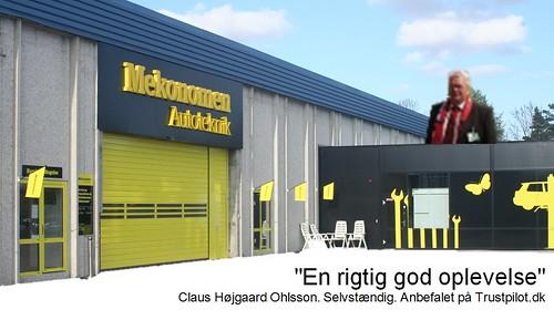 Claus Højgaard Ohlsson: anbefaling af Mekonomen Autoteknik - ES Motor